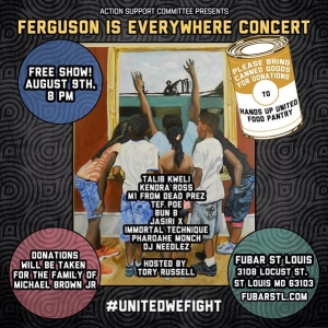 On my way to #Ferguson. Nothing but healing vibes. #mikebrown See you at the concert and on the frontline.