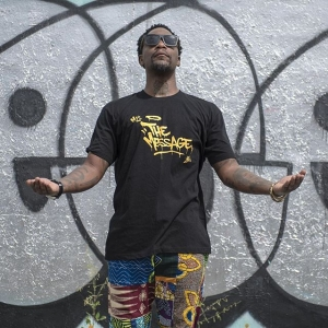 Join the Revolutionary Media Movement with #JLoveandM1 Productions! We 'bout that Global Transformation through #Culture , #Storytelling and #technology. 11 days left to support the campaign! Thank you to everyone rocking #TheMessage ! https:/Teespring.com/m1-themessage Photo by @islandboiphotography pantaloons by @naashekafashion @jlovecalderon @sen1original @med_tcs @michaelskolnik @sticrbg @mikeflorbg